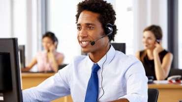 Medewerker van klantenservice