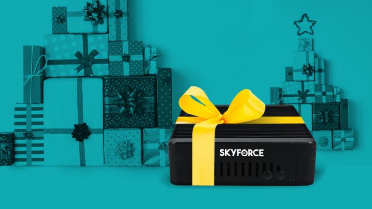 L'équipe Skyforce vous souhaite un Joyeux Noël et une Bonne Année