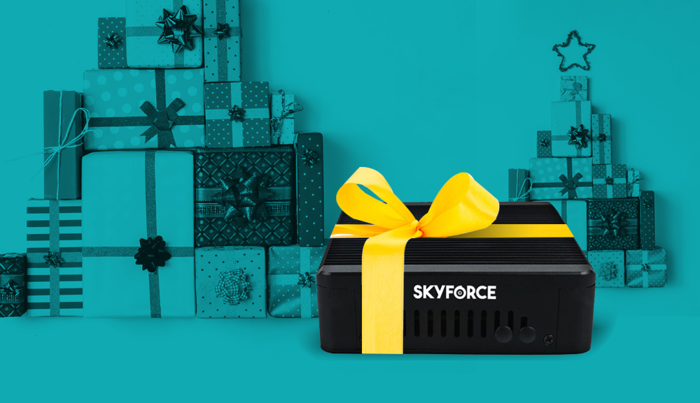 Skyforce wishes you a Merry Christmas and a Happy New Year