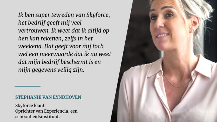 Klantenverhaal – Stephanie Van Eyndhoven