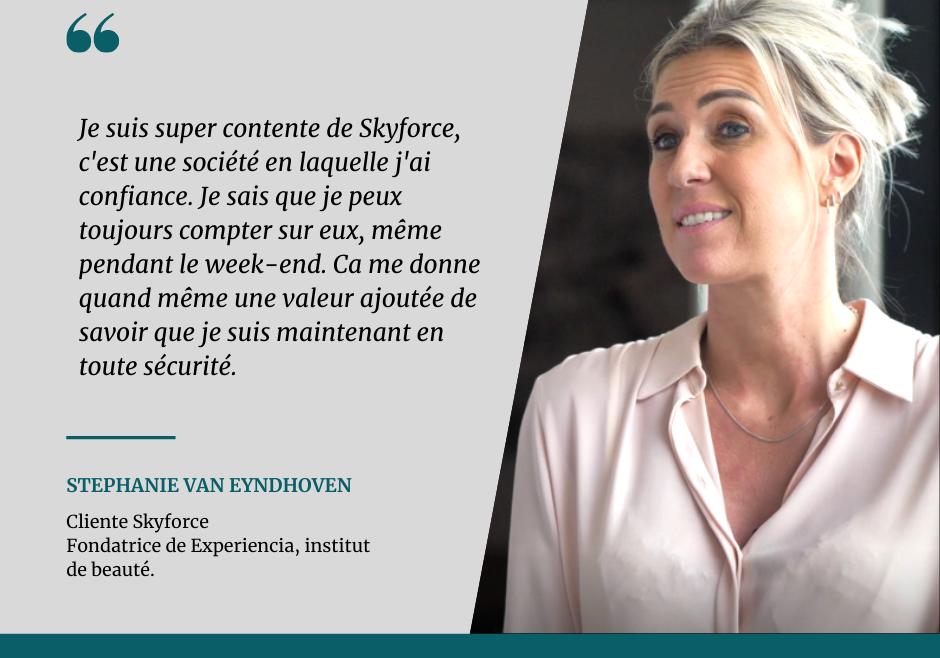 Témoignage client – Stephanie Van Eyndhoven